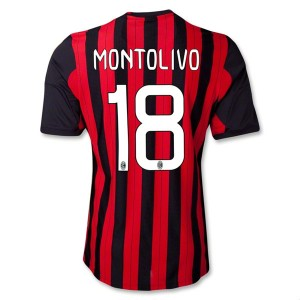 Camiseta de AC Milan 2013/2014 Primera Montolivo Equipacion