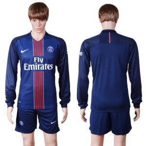Camiseta de Paris Saint Germain 2016/2017 Primera Manga Larga