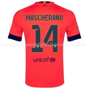 Camiseta del Mascherano Barcelona Segunda 2014/2015
