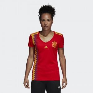 Mujer Camiseta del SPAIN Home 2018