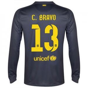 Camiseta Portero nueva Barcelona C.Bravo Equipacion Primera 2014/2015