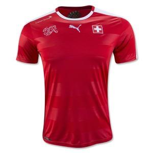 Camiseta nueva Suiza 2016/2017