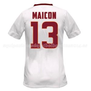 Camiseta AS Roma Maicon Segunda Equipacion 2014/2015