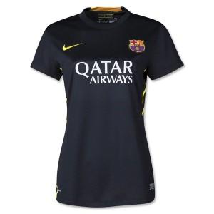 Camiseta de Barcelona 2013/2014 Tercera Equipacion Mujer
