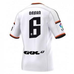 Camiseta nueva Valencia Lucas Orban Equipacion Primera 2014/2015