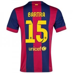 Camiseta nueva Barcelona BARTRA Equipacion Primera 2014/2015