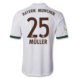 Camiseta del Muller Bayern Munich Tercera Equipacion 2013/2014