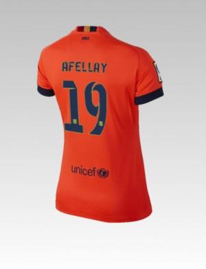 Camiseta nueva del Barcelona 2013/2014 Alexis Segunda