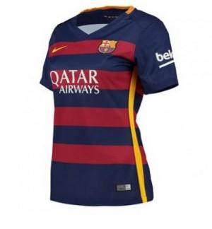 Camiseta nueva del Barcelona 2015/2016 Equipacion Mujer Primera