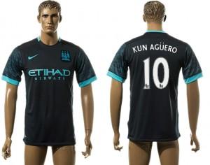 Camiseta nueva Manchester City 10# aaa version Away