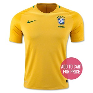 Camiseta Brasil Home 2016