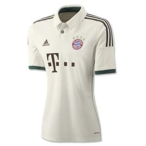 Camiseta de Bayern Munich 2013/2014 Tercera Equipacion Mujer