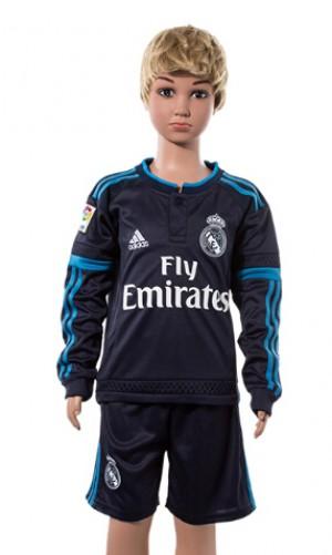 Niños Camiseta del Real Madrid Manga Larga 2015/2016