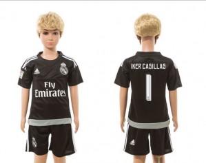 Camiseta nueva del Real Madrid 2015/2016 goalkeeper 01 Niños