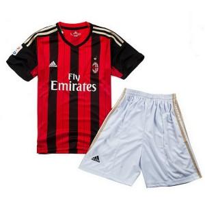 Camiseta de AC Milan 2013/2014 Primera Equipacion Nino