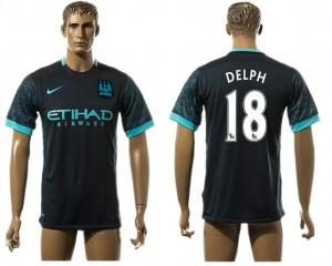 Camiseta del 18# Manchester City Away aaa version