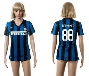 Camiseta nueva del Inter Milan 2015/2016 88 Mujer