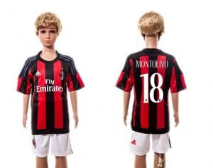 Camiseta AC Milan #18 Home 2015/2016 Niños