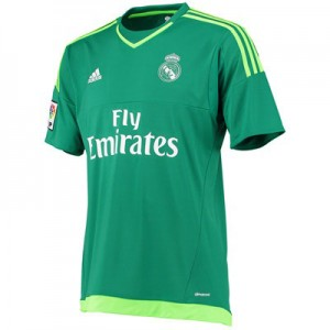 Camiseta Portero Real Madrid Segunda Equipacion 2015/2016