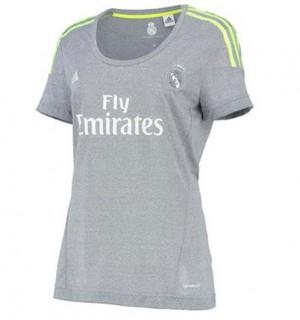 Camiseta Real Madrid Segunda Equipacion 2015/2016 Mujer