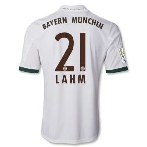 Camiseta de Bayern Munich 2013/2014 Tercera Lahm Equipacion