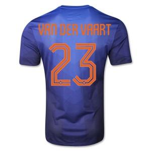 Camiseta de Holanda WC2014 Segunda Van Der Vaart