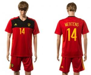 Camiseta del 14# Belgium 2015-2016