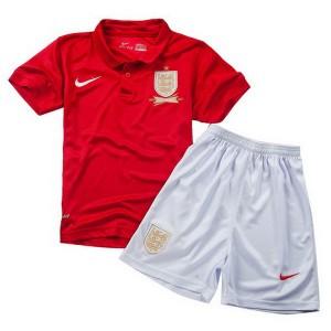 Camiseta de Inglaterra de la Seleccion 2013/2014 Segunda Nino