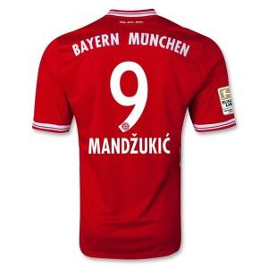 Camiseta nueva del Bayern Munich 2013/2014 Mandzukic Primera