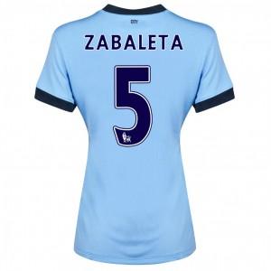 Camiseta nueva del Manchester City 2013/2014 Dzeko Primera