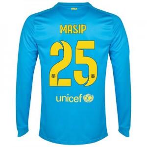 Camiseta Portero nueva del Barcelona 2014/2015 Equipacion Masip Segunda