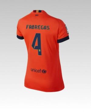 Camiseta nueva del Barcelona 2013/2014 A.Song Segunda