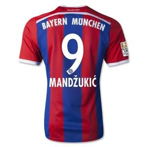 Camiseta de Bayern Munich 2014/2015 Primera Mandzukic Equipacion