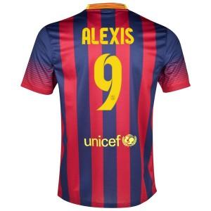 Camiseta nueva Barcelona Alexis Primera 2013/2014
