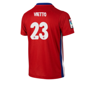 Camiseta nueva del Atletico Madrid 2015/2016 Equipacion VIETTO Primera
