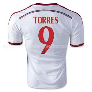 Camiseta nueva del AC Milan 2014/2015 Equipacion Torres Segunda