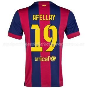 Camiseta nueva Barcelona Afellay Primera 2014/2015