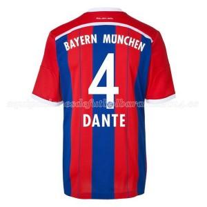 Camiseta nueva Bayern Munich Dante Equipacion Primera 2014/2015