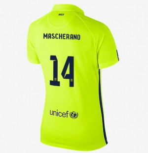 Camiseta de Barcelona 2013/2014 Segunda Equipacion Nino