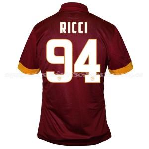 Camiseta AS Roma Ricci Primera Equipacion 2014/2015
