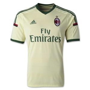 Camiseta AC Milan Tercera Tailandia 2014/2015