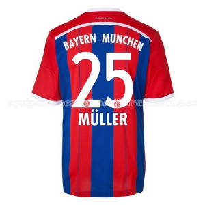 Camiseta del Muller Bayern Munich Primera Equipacion 2014/2015