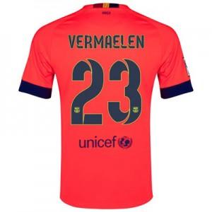 Camiseta de Barcelona 2014/2015 Segunda VERMAELEN Equipacion