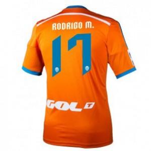 Camiseta nueva del Valencia 2014/2015 Equipacion Rodrigo Segunda