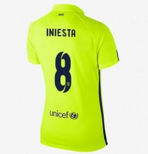Camiseta Barcelona Tercera Equipacion 2013/2014 Mujer