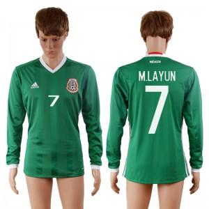 Camiseta Mexico 7# 2016-2017