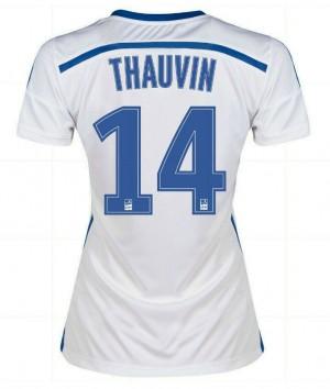 Camiseta del Xavi España de la Seleccion Primera 2013