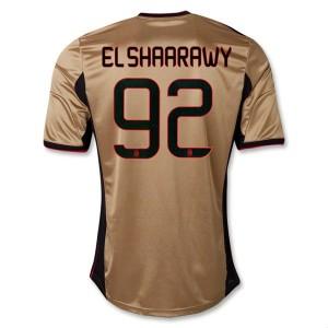 Camiseta nueva del AC Milan 2013/2014 Equipacion El Shaarawy Tercera