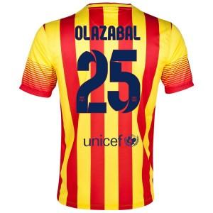 Camiseta del Olazabal Barcelona Segunda 2013/2014