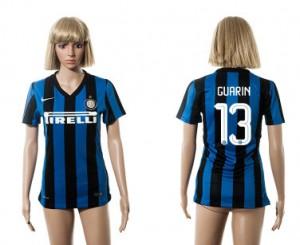 Camiseta nueva del Inter Milan 2015/2016 13 Mujer